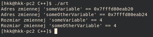 typy wzorów c ++ - float
