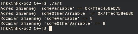 typy wzorów double