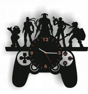 prezenty dla gracza zegar ścienny
