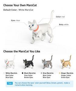 marscat kolory
