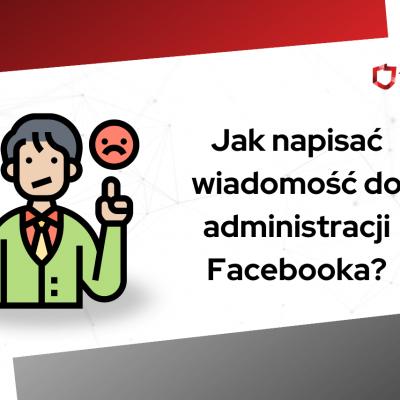 jak napisać do administracji facebooka
