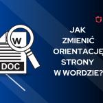orientacja strony