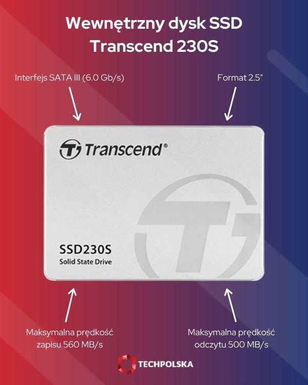 transcend 230s specyfikacja
