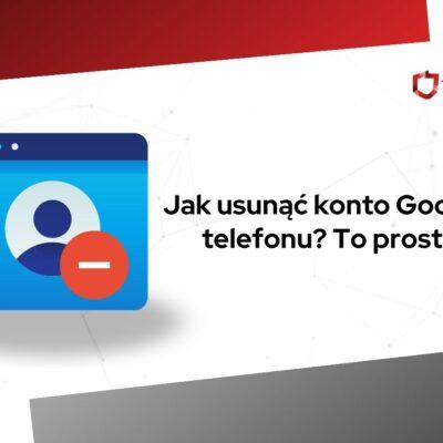 jak usunąć konto google z telefonu