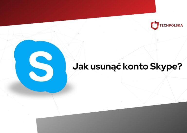 jak usunąć konto skype