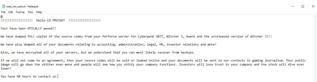 notatka hakerów