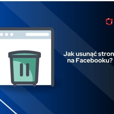 jak usunąć stronę na fb