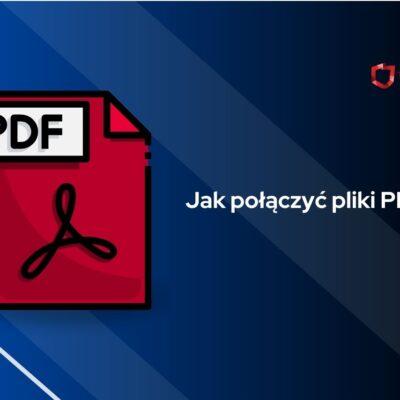 łączenie pdf