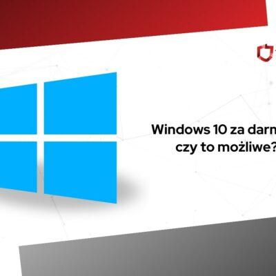 windows 10 za darmo