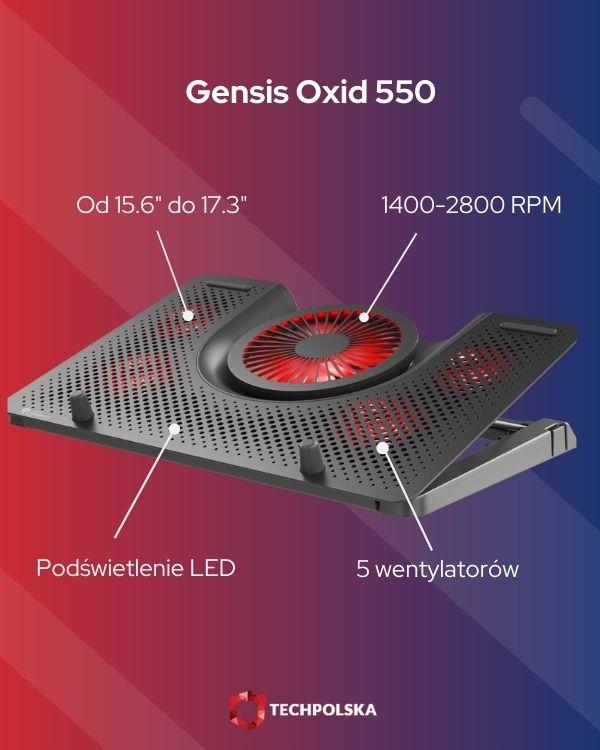 gensis oxid 550 specyfikacja