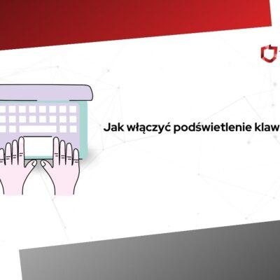 jak włączyć podświetlenie klawiatury