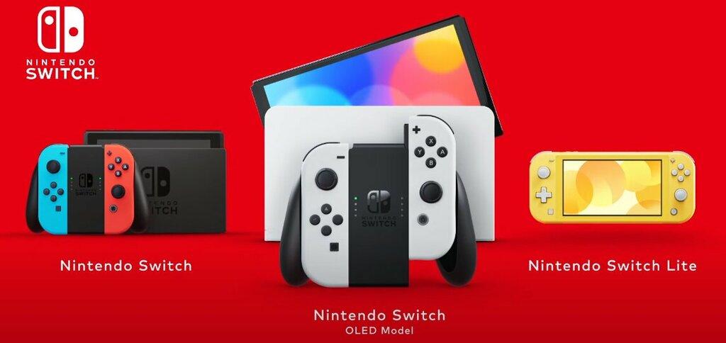 nintendo switch oled porównanie